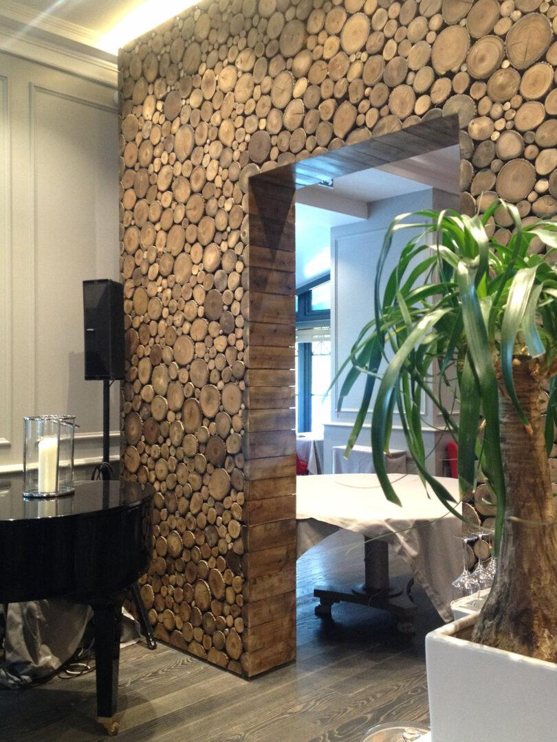 h tel mont blanc murs bois ignifug s woodenha portfolio. Black Bedroom Furniture Sets. Home Design Ideas